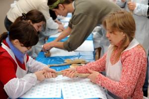 Мастер-класс по гончарному искусству для слепых детей