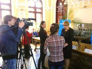 Пресс-конференция «Киевстар» в Одессе. Социальный проект «Услышь меня!»