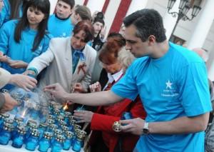Акция от компании «Киевстар» в Одессе в честь 66-й годовщины Победы в Великой Отечественной войне