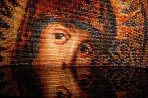 Панно «Взгляд в вечность» — подарок Оксаны Мась Национальному  заповеднику «София Киевская»