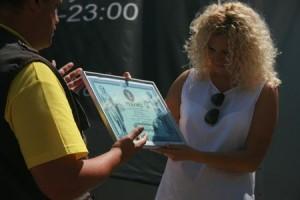Регистрация «Алтарь наций» Оксаны Мась в Национальный реестр рекордов Украины