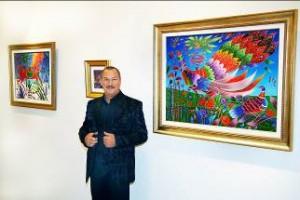 В центре культуры вина Шабо открылась выставка Юрия Горбачева