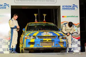 Экипаж Виталия Пушкаря и Ивана Мишина выиграл спринтерскую гонку в абсолютном зачете и в самом мощном классе Р8