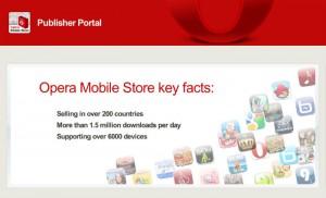 Ресурс для разработчиков мобильных приложений Opera Publisher Portal