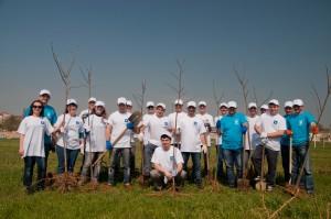 Волонтеры «Киевстар» провели экологическую акцию «Поделись любовью к Николаеву»