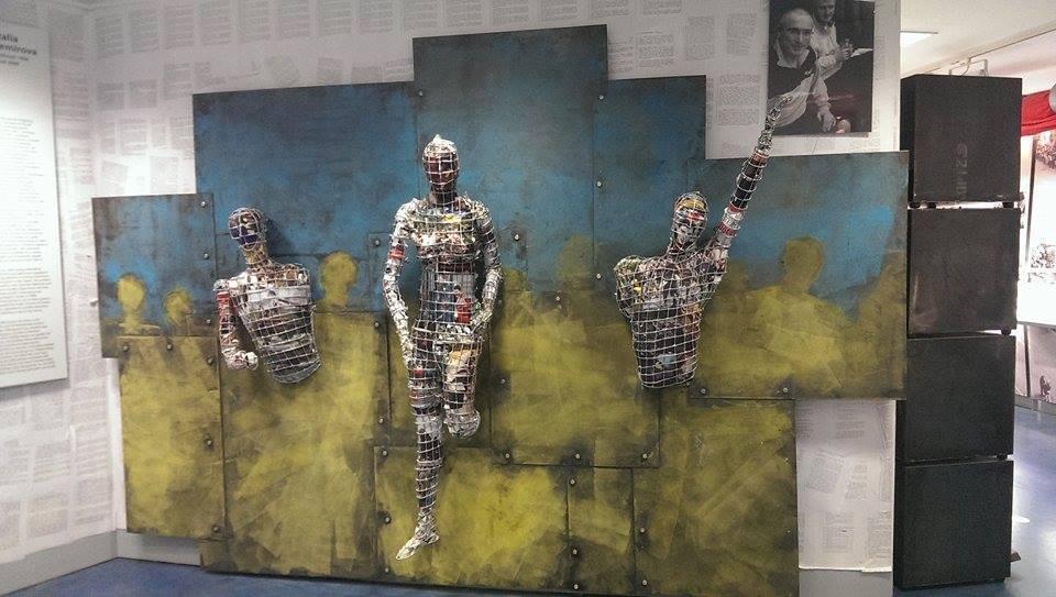 Инсталляция Узники
