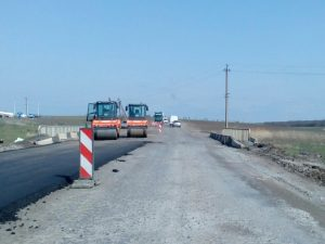 Odessa Reni regional road reconstruction connecting Ukraine & EU