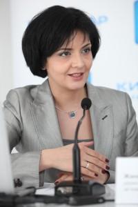 Жанна Пархоменко — директор по корпоративным связям «Киевстар»