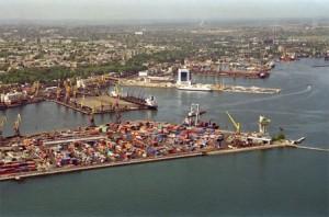 Одесский порт, карантинный мол