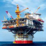 Chevron Oil platform —добыча нефти США
